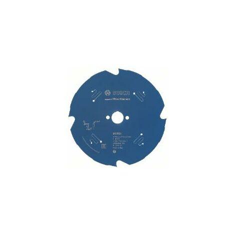 BOSCH Lames scie circulaire Expert for Fiber Cement (Ø 160 mm - 20 mm - 2.2 mm - 4 - 10°)