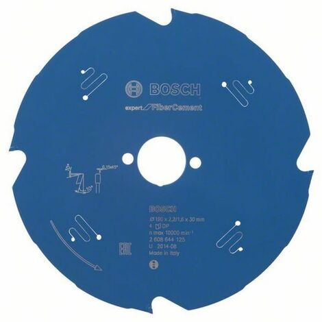 BOSCH Lames scie circulaire Expert for Fiber Cement