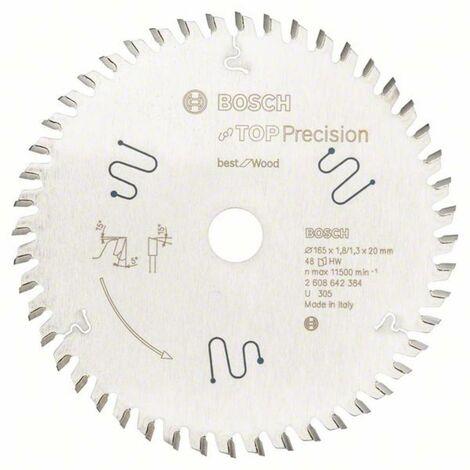 BOSCH Lames scies circulaires portatives Ø165mm Best for Wood - Bois