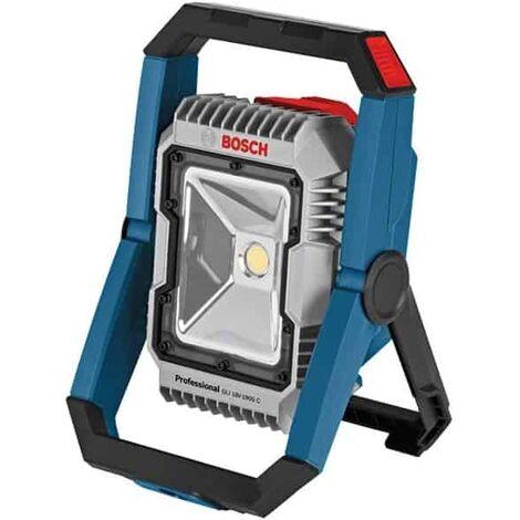 BOSCH Lampe de chantier 18V bluetooth - GLI 18V-2200C - 0601446501
