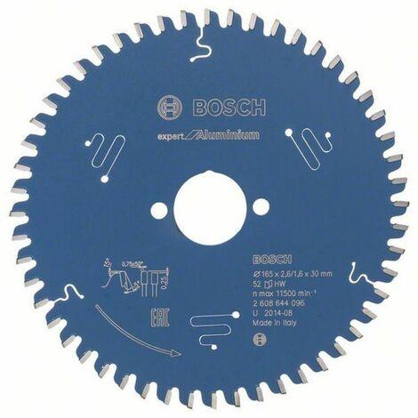Bosch Lampe de scie circulaire Expert for Aluminium 165 x 30 x 2,6/1,6 x 52