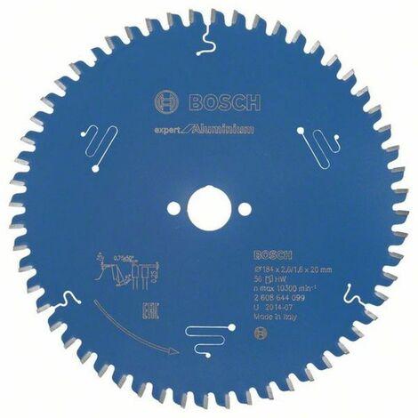 Bosch Lampe de scie circulaire Expert for Aluminium 184 x 20 x 2,6/1,6 x 56