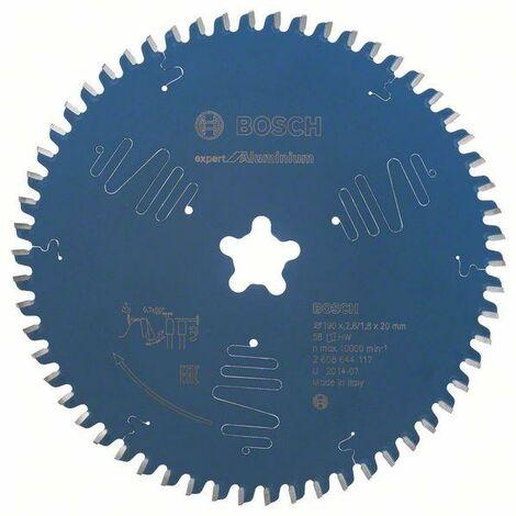 Bosch Lampe de scie circulaire Expert for Aluminium 190 x 2,6 mm, 58
