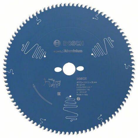 Bosch Lampe de scie circulaire Expert for Aluminium 315 x 30 x 2,8/2,2 x 96