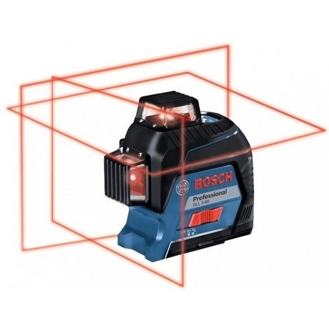 BOSCH Laser auto 3 plans 30 m - GLL3-80 (coffret std)