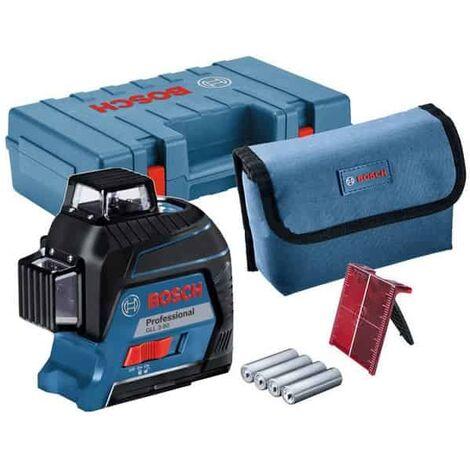 BOSCH laser auto 3 plans portée 30 m GLL3-80 (coffret) - 0601063S00