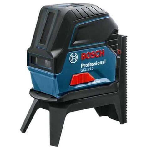 BOSCH Laser combiné ligne et point 15m coffret GCL2-15 - 0601066E02