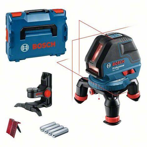 Bosch Laser croix GLL 3-50 + Support universel BM 1 + L-BOXX + accessoires - 0601063802