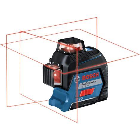 Bosch Laser GLL 3-80 professional Croix ligne 360ø livr' en coffret 0601063S00