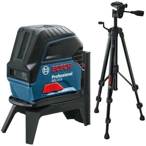 BOSCH Laser ligne point 15m GCL2-15 + trépied BT150 - 06159940FV >>