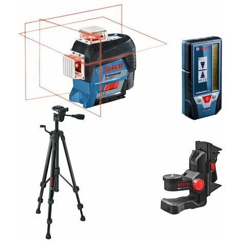 Bosch laser Lignes Auto 3 plans 30m GLL 3-80 C Visibilité inédite sur 3 x 360° bluetooth connecté ligne laser rouge 0601063R02