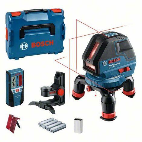 Bosch Laser lignes GLL 3-50, dans L-BOXX, assortiment d'accessoires - 0601063803