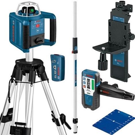 BOSCH Laser rotatif auto H et V 300m - GRL300HV G Pack 061599404A >>