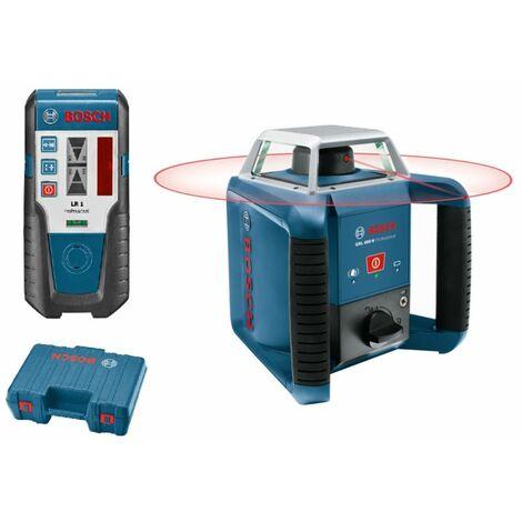 Bosch Laser rotatif GRL 400 H | avec récepteur laser LR 1