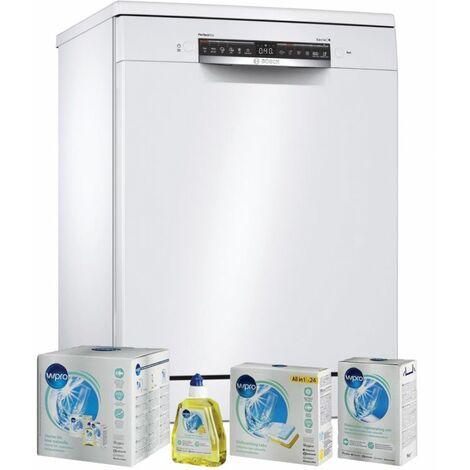 BOSCH Lave-vaisselle posable blanc 44dB 14 couverts 60cm Connecté - Blanc
