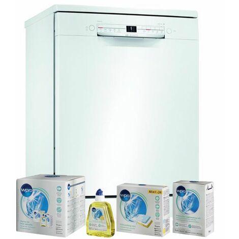 BOSCH Lave-vaisselle posable blanc 46dB 12 couverts 60cm AquaSensor EcoSilence - Blanc