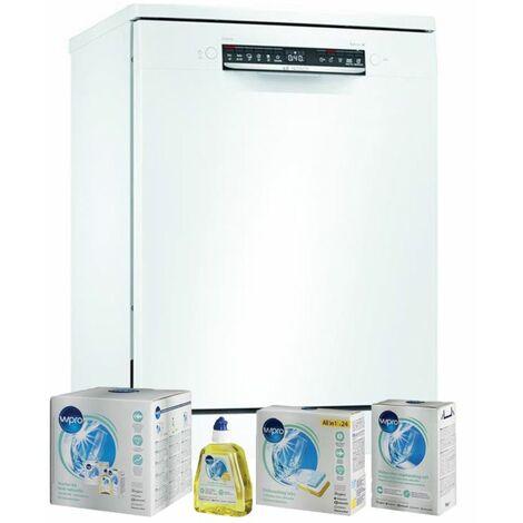 BOSCH Lave-vaisselle posable blanc 46dB 12 couverts 60cm Connecté - Blanc