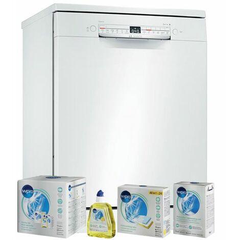 BOSCH Lave-vaisselle posable blanc 48dB 12 couverts 60cm Connecté - Blanc