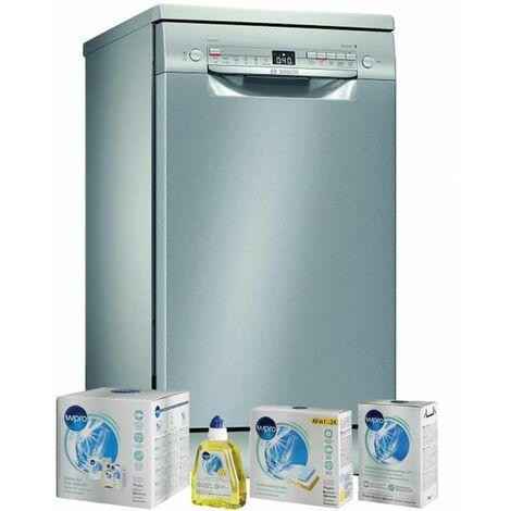 BOSCH Lave-vaisselle posable inox 9 couverts 45cm AquaSensor VarioSpeed - Inox