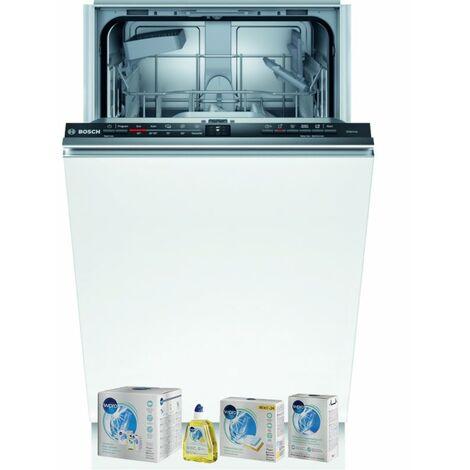 BOSCH Lave-vaisselle tout intégrable encastrable 48dB 9 couverts 45cm EcoSilence Wi-fi