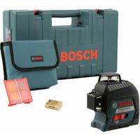 Bosch linea laser gll 3-80 professional con custodia protettiva in valigia