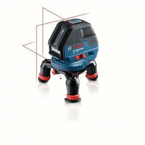 Bosch Linienlaser GLL 3-50, mit Laser-Empfänger LR2, Universalhalterung BM1, L-BOXX 0601063803