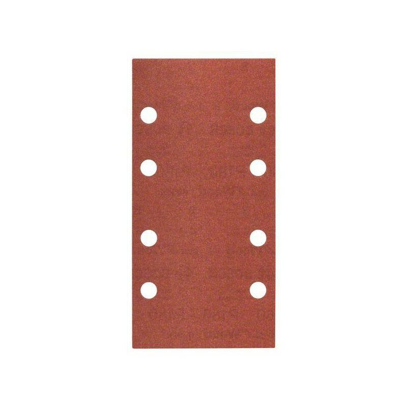 60 Velcro 93 x 186 mm 8 Trous 10er-Pack Bosch Pastille de sablage c470