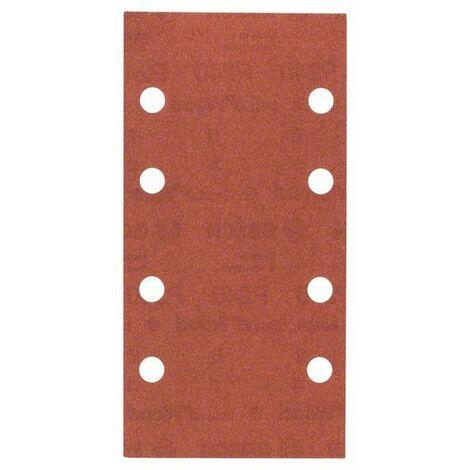 BOSCH Lot de 10 feuilles abrasives C470 - 93x186 mm - Grain 40