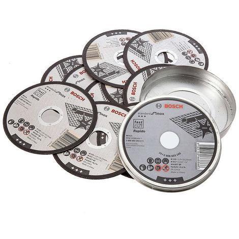 Bosch LPP Inox Cutting Disc 115x1x2 2.23mm Pack of 10