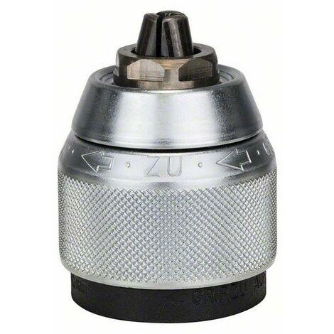 Bosch - Mandrin automatique chromé pour perceuse à percussion 1,5 à 13mm 1/2 - 20 - TNT
