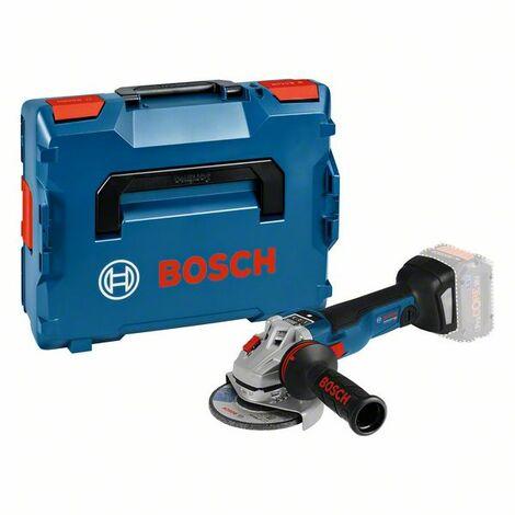 Bosch Meuleuse angulaire sans fil GWS 18V 10 SC, avec GCY 30 4 sans batterie ni chargeur, L BOXX 06019G340B