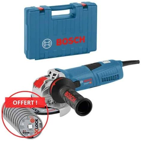 BOSCH Meuleuse X-LOCK 125mm 1300W GWX 13-125S - 06017B6003