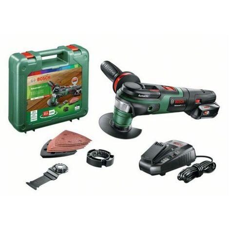 Bosch Multiherramienta a batería AdvancedMulti 18   1x batería de 2,5 Ah + accesorios