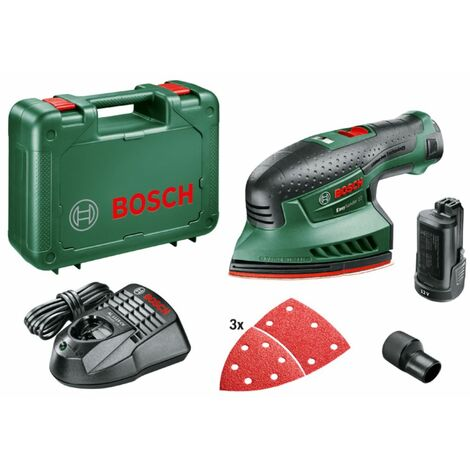"""main image of """"Bosch Multilijadora a batería EasySander 12 con 2 baterías 12V 2,5 Ah"""""""