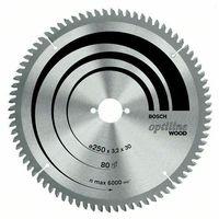 Bosch Optiline Wood circular saw blade 216 x 30 x 2.0 mm. 60 2608640433