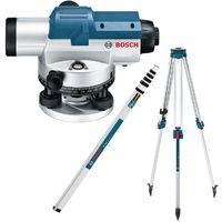 Bosch Optisches Nivelliergerät GOL 26 G Set, inkl. BT160, GR500