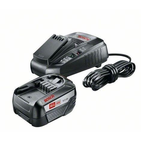 BOSCH Pack Batterie - Starter Set Bat 1x6,0Ah + Chargeur AL1830CV