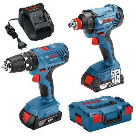 Bosch - Pack de machines 18V Visseuse à chocs et perceuse visseuse - TNT
