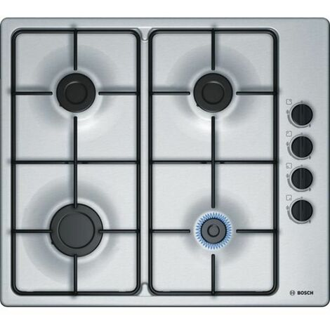 """main image of """"Bosch PBP6B5B80 built-in Gas Stainless steel hob"""""""