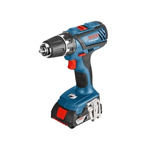 Bosch - Perceuse visseuse à batterie 18V 2Ah Li-Ion 13 mm - GSR 18-2-LI