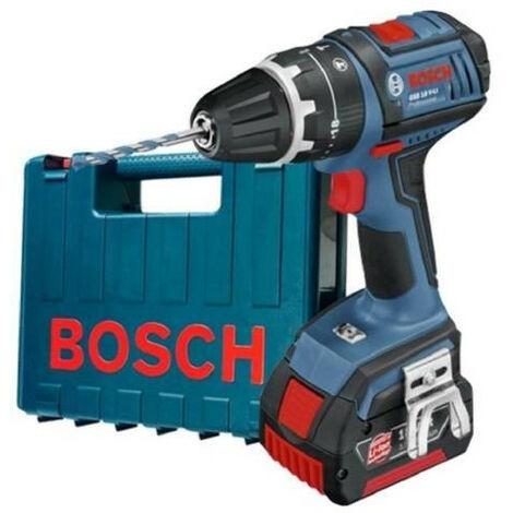 BOSCH Perceuse-visseuse a percussion GSB18V-LI1, 1 batterie 18 V et coffret PVC