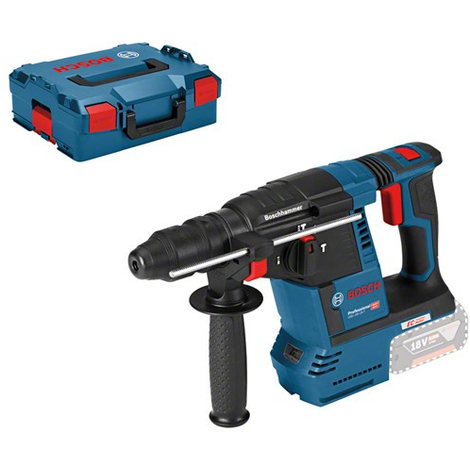 BOSCH - Perforateur sans fil GBH 18V-26 version solo (machine seule) en coffret L-BOXX - 0611909001