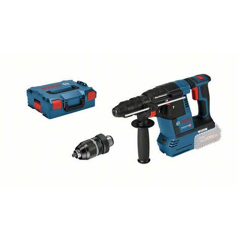 BOSCH - Perforateur sans fil GBH 18V-26 version solo (machine seule) en coffret L-BOXX - 0611909001