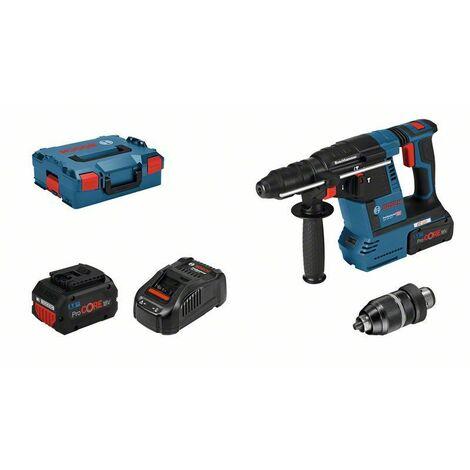 Bosch Perforateur sans-fil SDS plus GBH 18V-26 F - 061191000F 2 batteries 5,5 Ah, chargeur rapide