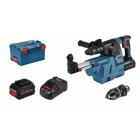 Bosch Perforateur sans-fil SDS plus GBH 18V-26 F: 2x Batteries GBA 6.0Ah, Chargeur - 061191000G