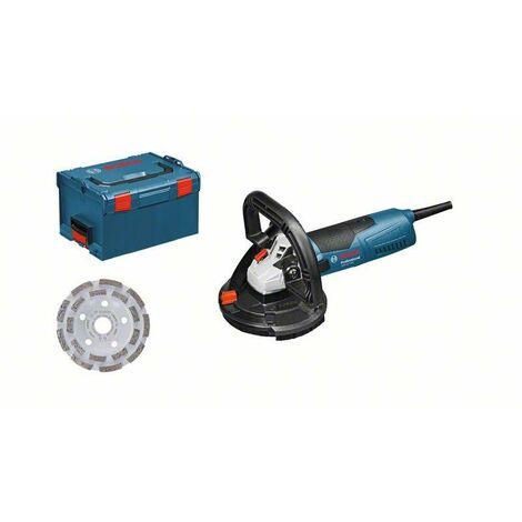 Bosch Ponceuse à béton GBR 15 CAG Professional + accessoires
