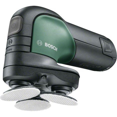 Bosch Ponceuse à disque sans fil EasyCurvSander 12 1 batterie 2,5 Ah