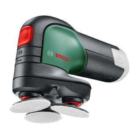 Bosch Ponceuse à disque sans fil EasyCurvSander 12 - Livré sans batterie ni chargeur, avec 9 accessoires