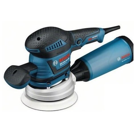 Bosch - Ponceuse excentrique 400W + Coffret Lboxx - GEX 125-150 AVE