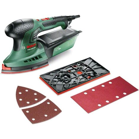 Bosch Ponceuse Multi PSM 200 AES + plateau rectangle